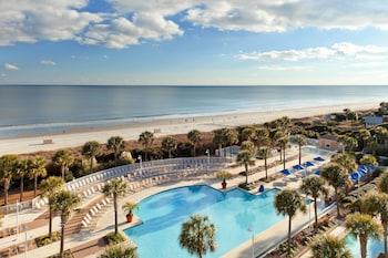 Beach/Ocean View at Myrtle Beach Marriott Resort & Spa at Grande Dunes in Myrtle Beach