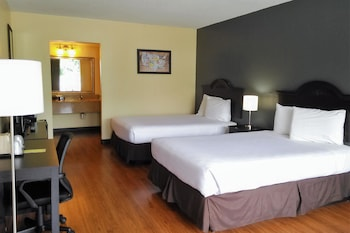Room, 2 Double Beds, Non Smoking, Pool View (First Floor)