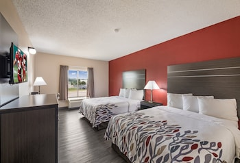 Superior Room, 2 Queen Beds, Accessible, Non Smoking (Roll-In Shower)