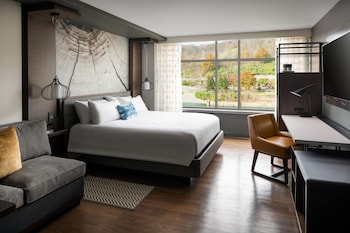Room, 1 King Bed with Sofa bed, River View