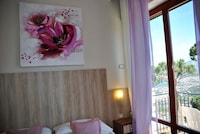 Double Room, 1 Double Bed, Terrace, Sea View