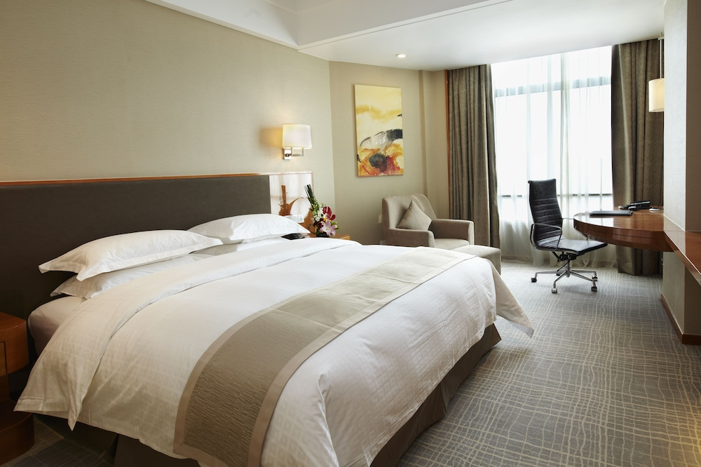 라마다 플라자 상하이 푸동 에어포트(Ramada Plaza Shanghai Pudong Airport) Hotel Image 10 - Guestroom