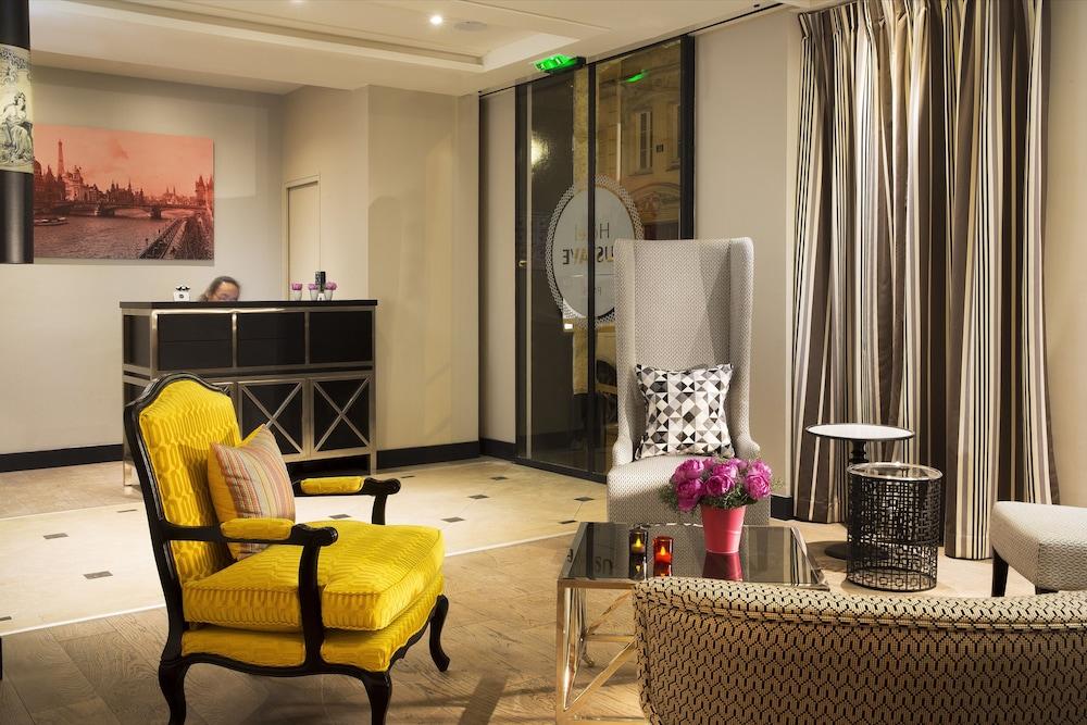 Hôtel Gustave, Zona de estar en el vestíbulo