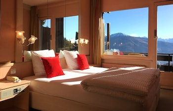 Double or Twin Room, Balcony, Mountain View