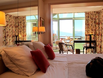 Deluxe Double or Twin Room, Balcony, Mountain View