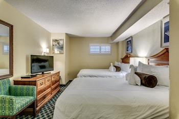 Guestroom at Dunes Village Resort in Myrtle Beach