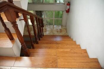 Makati Riverside Inn Staircase