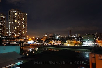Makati Riverside Inn View from Property