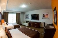 Suite ejecutiva, Varias camas, refrigerador y microondas