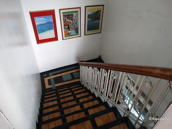 Corporate Inn Hotel Manila Staircase