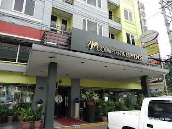 Corporate Inn Hotel Manila Front of Property