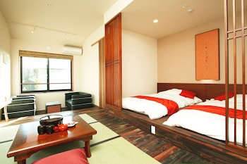 Japanese Western Style Room with Living Room and Private Open-Air Bath, Non Smoking (Annex Building)