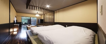 Japanese Style Room with Private Open-air Bath, Non Smoking (Main Building1F)