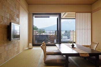 Japanese-Style Room with Open Air Bath, Mountain View 47㎡
