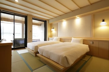 Japanese Style Room with Twin Bed, Kawaguchi lake view