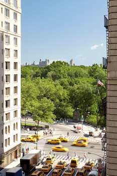 View from Hotel at 1 Hotel Central Park in New York