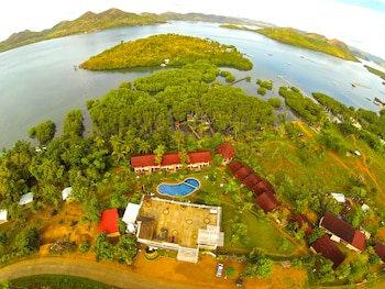 Asia Grand View Hotel Palawan Aerial View