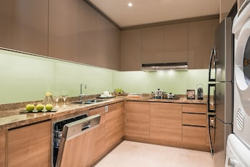 Ascott BGC In-Room Kitchen