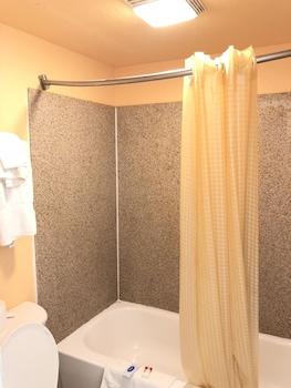Bathroom at White Marlin Inn in Virginia Beach