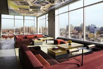 Lobby at Hotel Indigo Lower East Side New York in New York