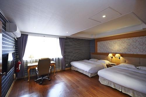European castle hotel, Tainan