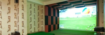 Indoor Golf Driving Range