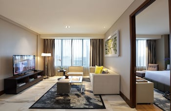 Makati Diamond Residences Living Room