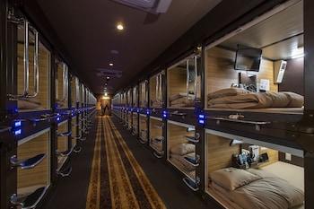 エグゼクティブ 男性用カプセルルーム|2㎡|豪華カプセルホテル 安心お宿プレミア新宿駅前店