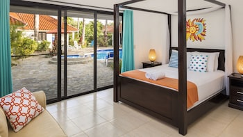 Room, 1 Queen Bed with Sofa bed, Poolside