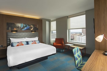 Room, 1 King Bed, City View, Corner