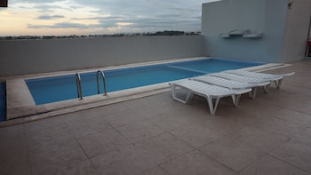 Mchotel Quezon City Rooftop Pool