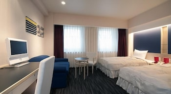 ツインルーム シングルベッド 2 台 禁煙|ホテルノースシティ