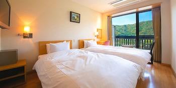 スタンダード ツインルーム シングルベッド 2 台|16㎡|岩国国際観光ホテル