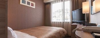 シングルルーム 禁煙 マウンテンビュー|10㎡|尾道ロイヤルホテル