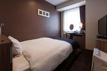 スタンダード シングルルーム セミダブルベッド 1 台 禁煙|12㎡|尾道国際ホテル
