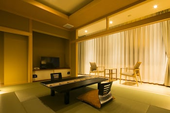 Japanese Style Room with Terrace and Private Bathroom, 10 Tatami-mats, Non Smoking