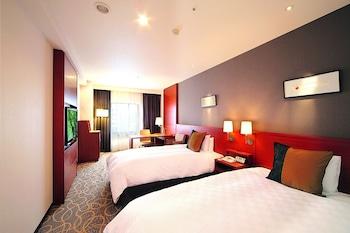 スタンダード ツインルーム 禁煙|秋田キャッスルホテル