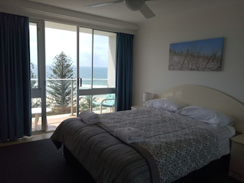 Guestroom at Pacific Regis Apartments in Burleigh Heads