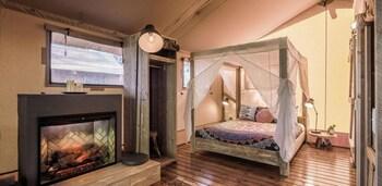 Stargazing Safari Tent