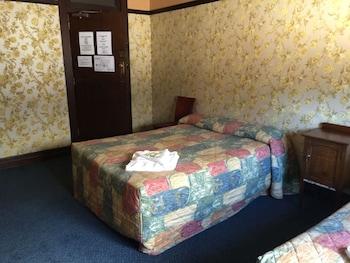 Guestroom at Strathfield Hotel in Strathfield