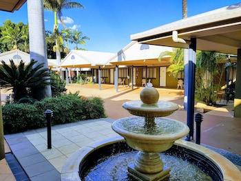 羅克漢普頓棕櫚汽車旅館 Rockhampton Palms Motor Inn