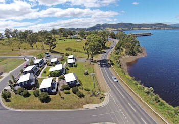 Port Huon Cottages - Aerial View  - #0