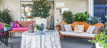 Terrace/Patio at Riverview Motel Brisbane in Hamilton