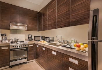 Aruga By Rockwell Makati In-Room Kitchen