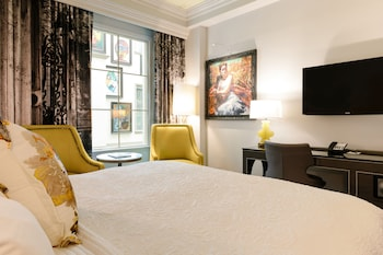 Guestroom at Grand Bohemian Hotel Charleston, Autograph Collection in Charleston