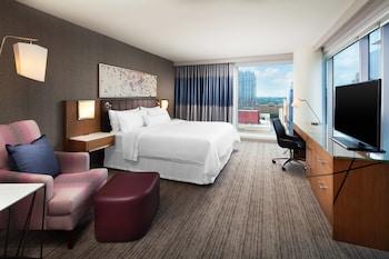 Room, 1 King Bed, City View, Corner