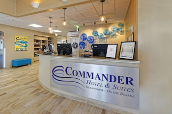 Check-in/Check-out Kiosk at Commander Hotel & Suites in Ocean City