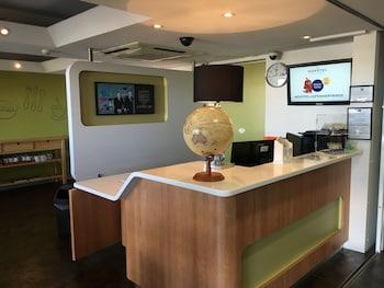 Reception at ibis Budget Campbelltown in Campbelltown