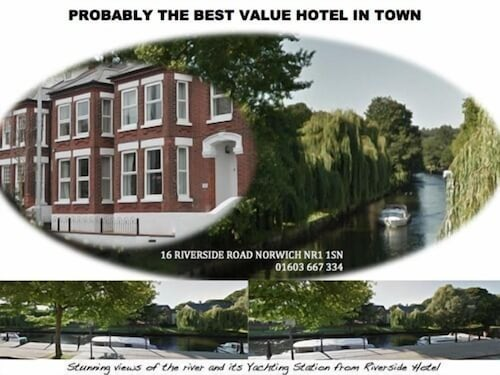 . Riverside Hotel Bed and Breakfast