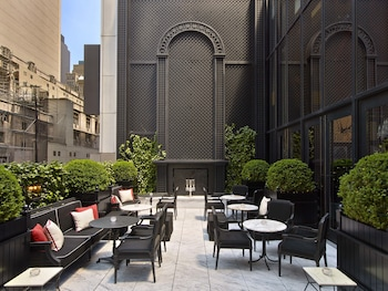 Terrace/Patio at Baccarat Hotel and Residences New York in New York